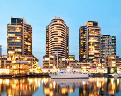 <strong>Arkley Tower Docklands<span><b>view larger</b></span></strong><i>→</i>